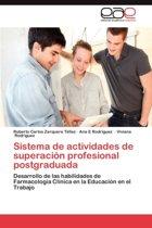 Sistema de Actividades de Superacion Profesional Postgraduada