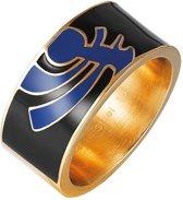 Pierre Cardin Steel - PCRG10008D200 - Ring - Roestvrij staal - goudkleurig