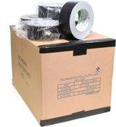 Nichiban   -  duct tape    -  50 mm x 25 m   -  Zwart