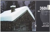 7 meter ijspegelverlichting met 360 LEDs - Lengte aansluitkabel: 12 meter | Kerstverlichting | Buiten & Binnen | Ijspegel | Led