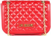 Love Moschino New Quilted Dames Schoudertas - Red