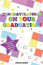 Congratulations on Your Graduation Puzzle Book