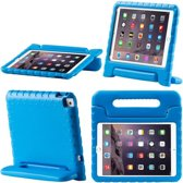 SMH Royal - iPad Air 2 hoes voor kinderen | Foam for Kids | Shockproof Case Hoesje / Cover / Hoes / Bumper / Tablethoes/ Proof | Zeer sterk | Met Handige Handvat | Blauw