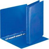 20x Esselte personaliseerbare ringmap, rug van 4,4cm, 4 ringen van 25mm, blauw