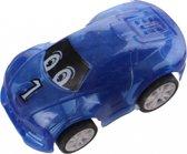 Jonotoys Mini Raceauto Blauw 5 Cm