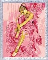 Ravensburger schilderen op nummer dromende ballerina