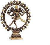 Shiva Nataraj messing 2-kleurig groter - 27 - 2400 - Messing - Metaal
