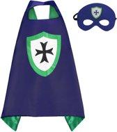 Ridder - Superhelden Kostuum cape voor kinderen 3 tot 10 jaar