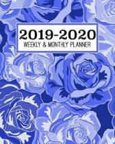 2019-2020 Weekly & Monthly Planner: Academic Planner for Students & Teachers - August 2019 through July 2020 - Schoolwork Calendar with Daily notes an