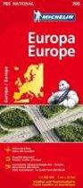 Europa 1 : 3 000 000 Nationalkarte