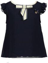Le Chic T-shirt fancy voile blue navy