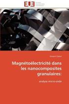 Magn�to�lectricit� Dans Les Nanocomposites Granulaires