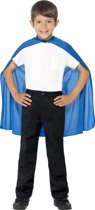 Blauwe cape voor kinderen - Verkleedattribuut