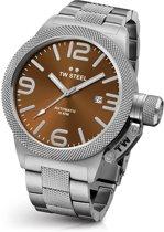 TW Steel CB26 Canteen Bracelet Collection - Horloge -  50 mm - Zilverkleurig