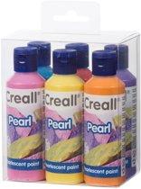 Creall Pearl parelmoerverf 6x80ml