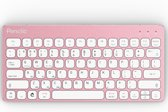 Penclic KB3 compact PC/Tablet keyboard wired/bluetooth Roze kleurig toetsenbord