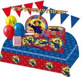 Brandweerman Sam feestpakket - voordeelpakket Deluxe 8 kinderen