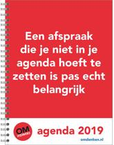Omdenken Bureau agenda 2019 - Softcover