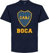 Boca Juniors CABJ Logo T-Shirt - Navy - S