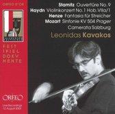 Haydn, Henze, Mozart; Kavakos