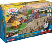 Thomas de Trein Take-N-Play Percy Scrap Yard - Treinbaan