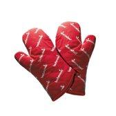 Barbecook Paar Korte Handschoenen - Rood