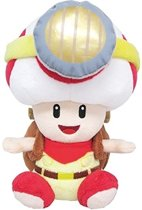 Super Mario Bros.: Captain Toad Sitting 18 cm Knuffel