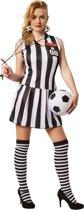 dressforfun 301806 Vrouwenkostuum Sexy Scheidsrechter voor dames vrouwen L verkleedkleding kostuum halloween verkleden feestkleding carnavalskleding carnaval feestkledij partykleding