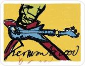Herman Brood placemat, Guitar Men