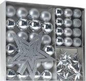 Home & Styling Kerstballen Set Zilver 45-dlgHome & Styling