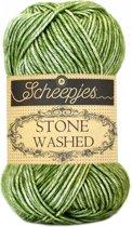 Scheepjes Stone Washed 806 Canada Jade (PAK MET 10 BOLLEN)