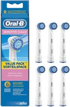 Oral-B Opzetborstels Sensitive Clean - 6 Stuks