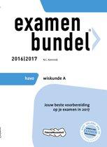 Omslag van 'Examenbundel havo Wiskunde A 2016/2017'