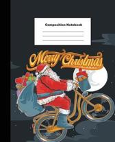 Composition Notebook Merry Christmas