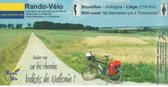 RV 4 West Radwege Wallonien / Rando Velo 1 : 50 000