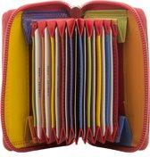 BURKELY Multicolour - Portemonnee - Rood Multi