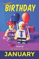 Happy Birthday Journal January