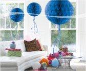 Honeycomb Blauw 30cm