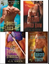 G.A. Aiken Dragon Bundle: The Dragon Who Loved Me, What a Dragon Should Know, Last Dragon Standing & How to Drive a Dragon Crazy