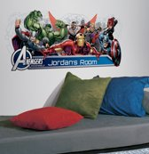 Marvel Avengers Assemble Headboard met ABC