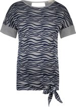 Noppies Zwangerschaps-t-shirt Cara - Grey Melange - Maat L