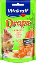 Vitakraft Drops - Wortel - Knaagdierensnack - 75 g