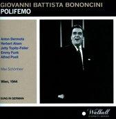 Bononcini: Polifemo (Sung In German