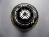 Stean inline wielen 4 pack 68 MM 78A met lagers en spacers