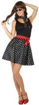 Fifties verkleed jurkje voor dames - voordelig geprijsd XS/S (34-36)
