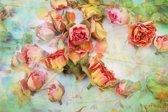 Papermoon Vintage Roses Vlies Fotobehang 500x280cm 10-Banen