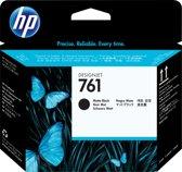 HP 761 - Inktcartridge / Mat Zwart (CH648A)