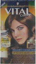 Schwarzkopf Vital Colours - 79 Fluweelbruin - Haarverf