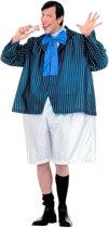 Leraar & Professor & Scholier & Student Kostuum | Vette Schooljongen Alfred Kostuum Man | One Size | Carnaval kostuum | Verkleedkleding