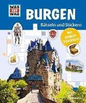 Rätseln und Stickern: Burgen